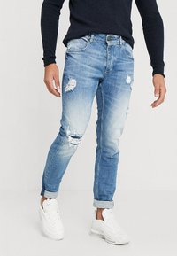 Gabba - REY - Slim fit jeans - blue denim - 0
