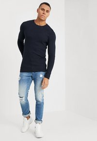 Gabba - REY - Slim fit jeans - blue denim - 1