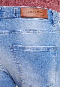 Gabba - IKI - Skinny džíny - blue denim - 4