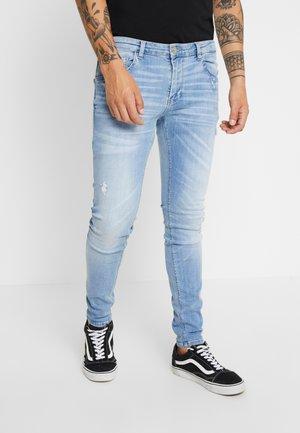 IKI  - Skinny džíny - blue denim
