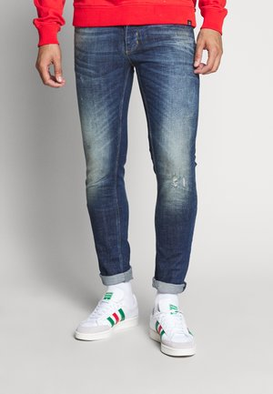 REY  - Jeans slim fit - dark-blue denim