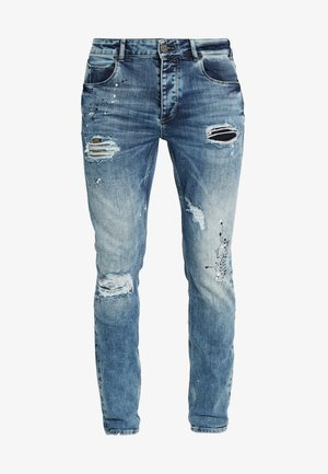REY - Jeans fuselé - moon washed