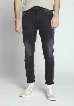 REY THOR - Jeans Slim Fit - grey denim