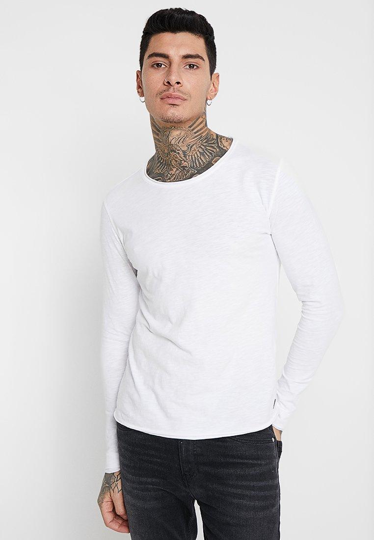 Gabba - KONRAD SLUB TEE - Long sleeved top - white