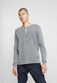 Gabba - PISTO - Pitkähihainen paita - mid grey - 0