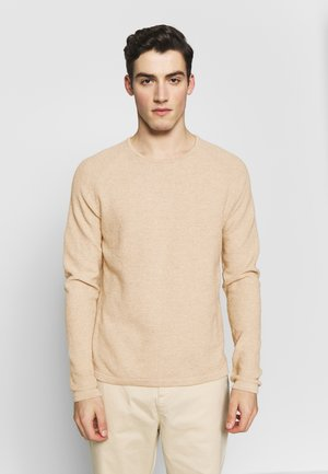 LAMP O-NECK - Jumper - sand