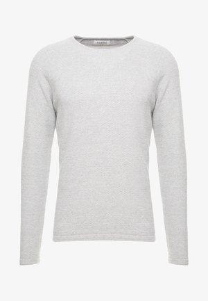 LAMP O-NECK - Pullover - light grey melange
