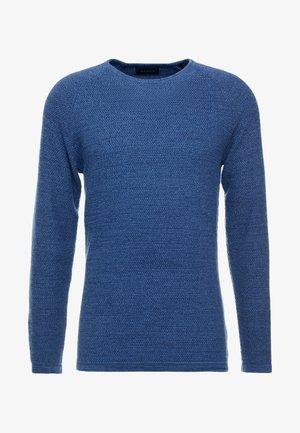 LAMP O-NECK - Jersey de punto - blue melange
