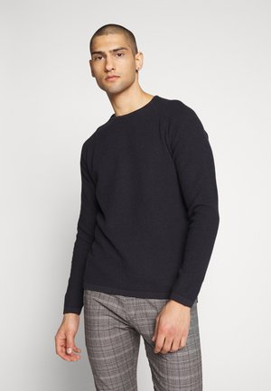 LAMP O-NECK - Jumper - navy