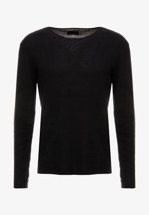 NEWLYN - Sweter - black