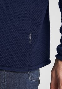 Gabba - FORD ROLLNECK - Jumper - navy - 5