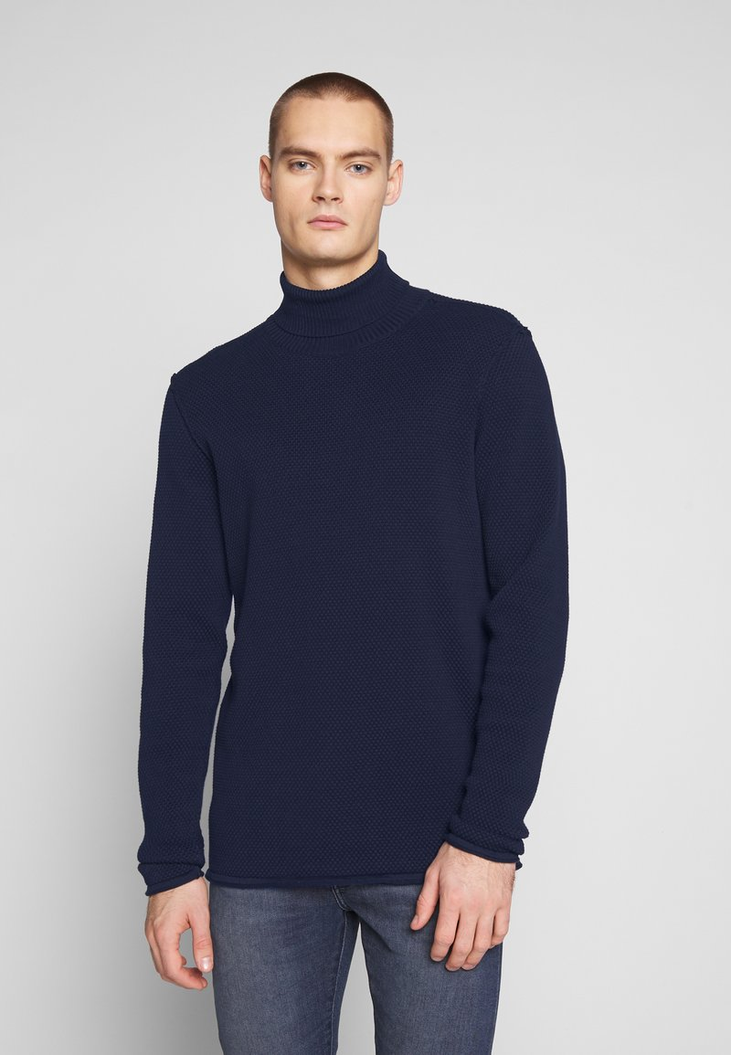 Gabba - FORD ROLLNECK - Jumper - navy