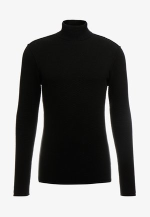 FORD ROLLNECK - Strikkegenser - black
