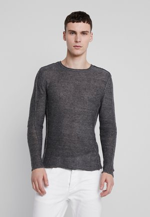 LIAM BLACK KNIT - Jumper - black