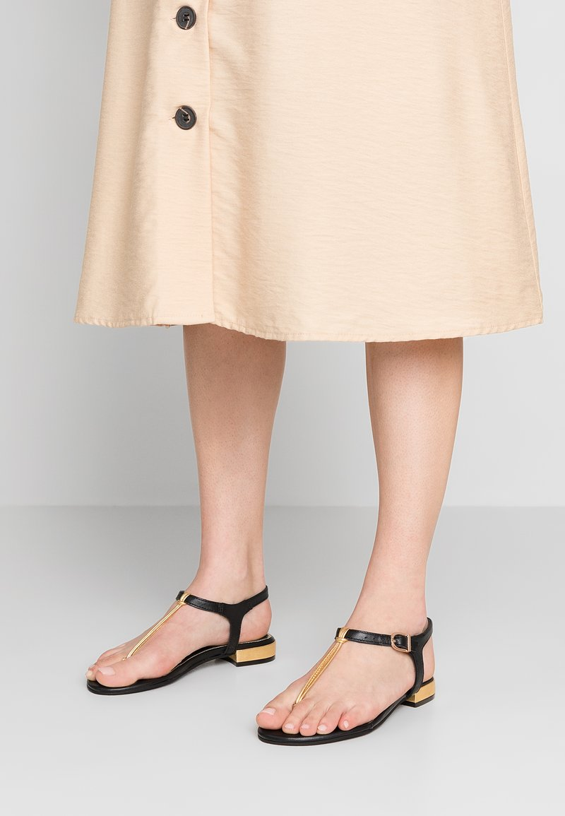 Gioseppo - SIGEAN - T-bar sandals - black