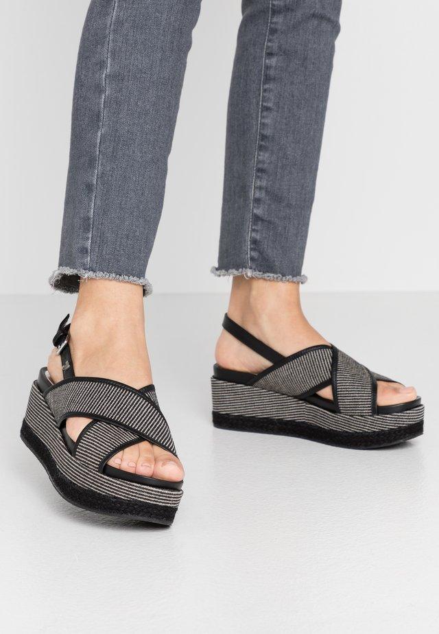 GENOA - Loafers - black