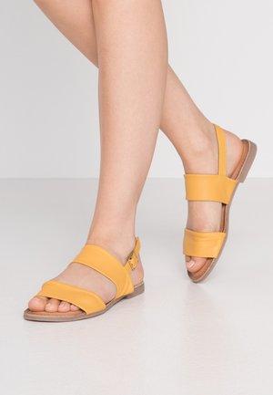 MESIC - Sandals - mustard