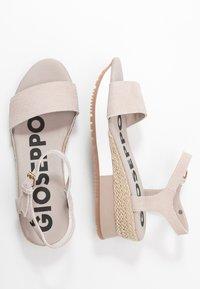 Gioseppo - SARCHI - Platform sandals - beige - 3