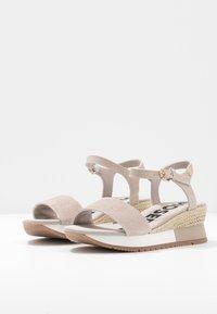 Gioseppo - SARCHI - Platform sandals - beige - 4