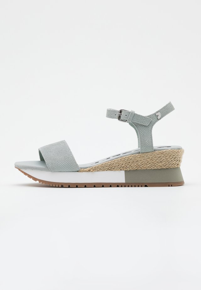 SARCHI - Sandały na platformie - azul