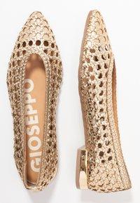 Gioseppo - ELKIN - Ballet pumps - gold - 3