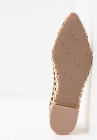 Gioseppo - ELKIN - Ballet pumps - gold - 6
