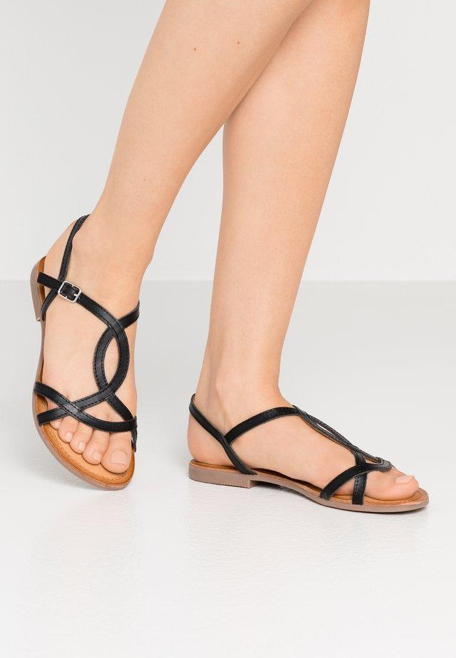 NAVASSA - Sandals - black