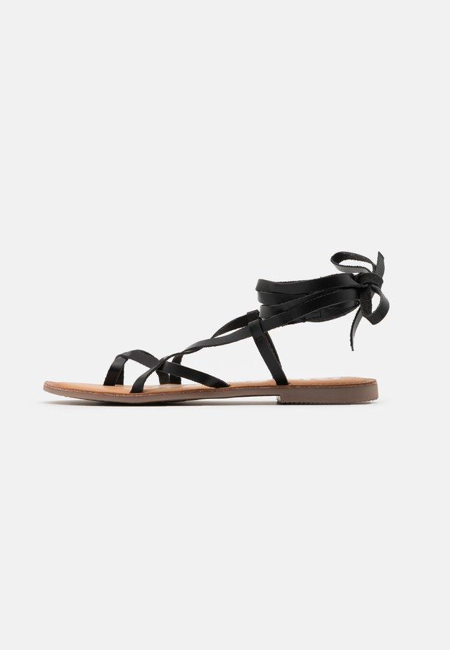 CLAVERACK - Sandals - black