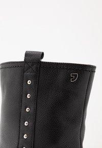 Gioseppo - Kotníkové boty na klínu - black - 6