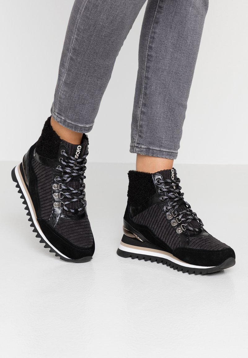 Gioseppo - High-top trainers - black