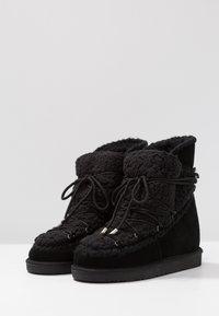 Gioseppo - Kotníkové boty na klínu - black - 4