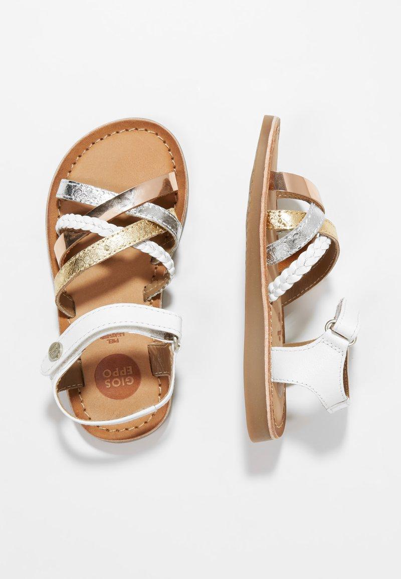 Gioseppo - Sandaler - blanco/multicolor