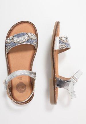 MALMAISON - Sandals - plata