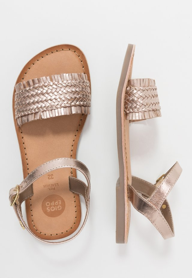 SIRACUSA - Sandals - cooper