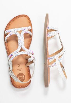 TERRASINI - Sandals - white