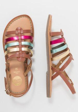 ETALLE - Sandals - tan