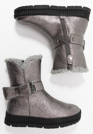 Classic ankle boots - pewter
