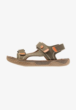 Sandalen - khaki