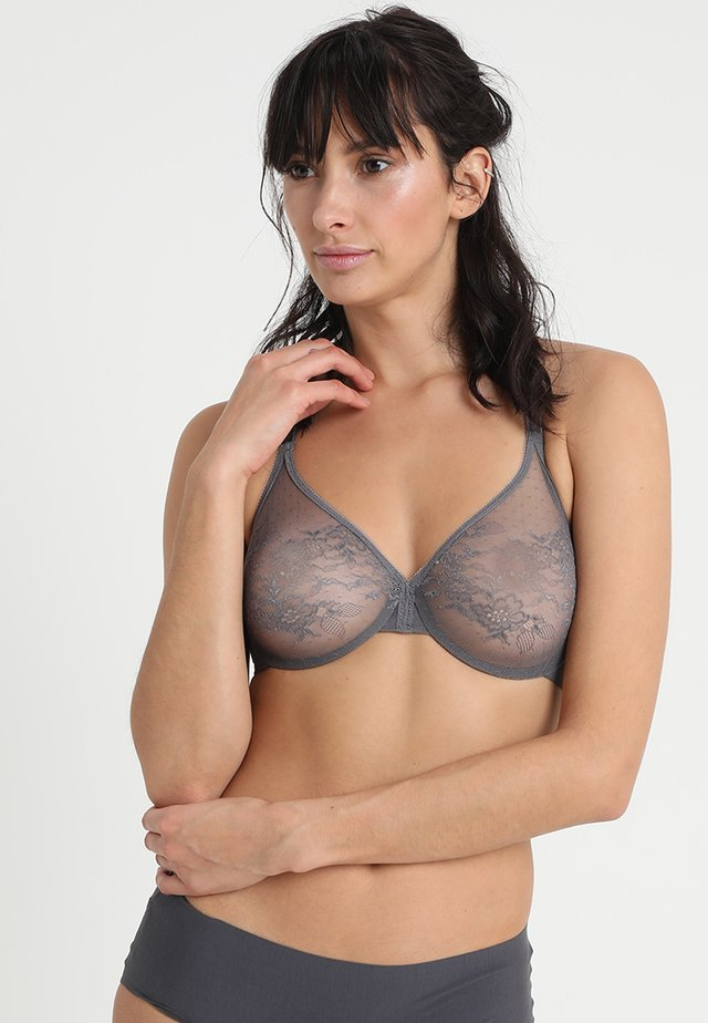 GLOSSIES MOULDED - Underwired bra - platinum