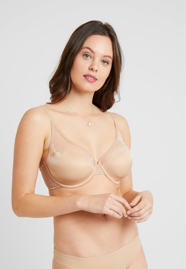GLOSSIES HIGH APEX LIGHT PADDED BRA - Bügel BH - nude