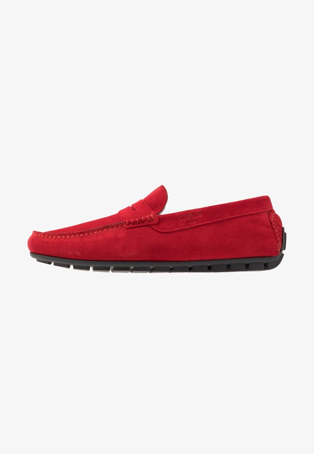 Moccasins - rosso