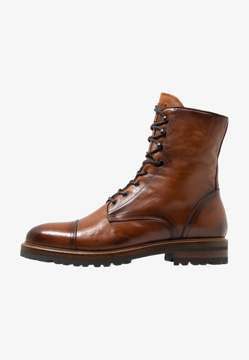 Giorgio 1958 - OLD - Lace-up ankle boots - cognac