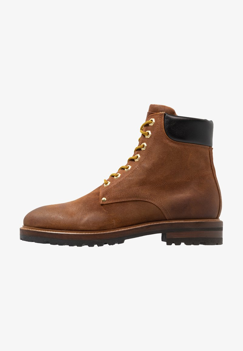 Giorgio 1958 - Lace-up ankle boots - brown