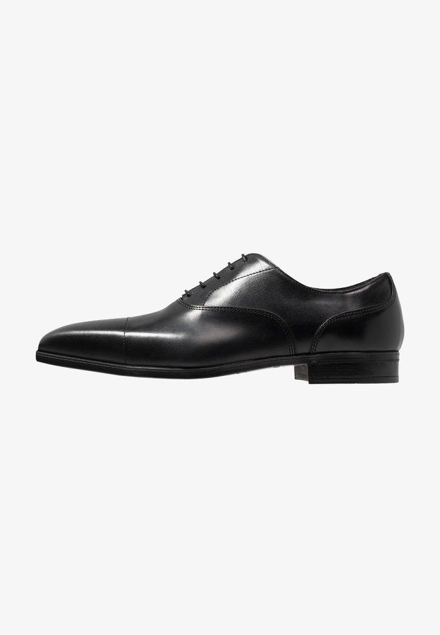 Elegantní šněrovací boty - bellaria nero