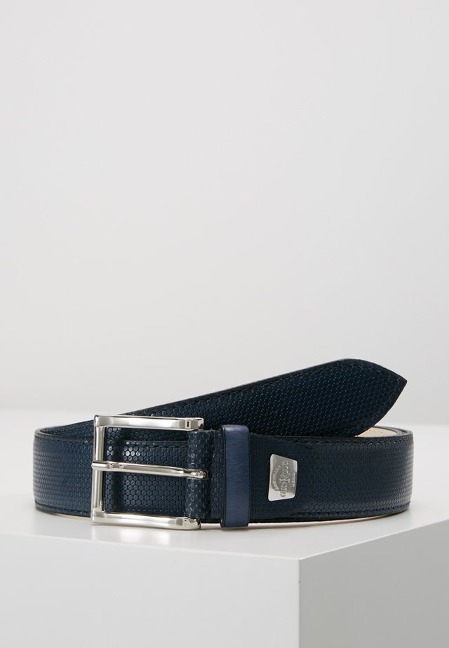 Belt - favo bouvier navy