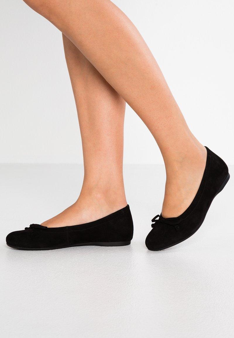 Gabor - Klassischer  Ballerina - schwarz