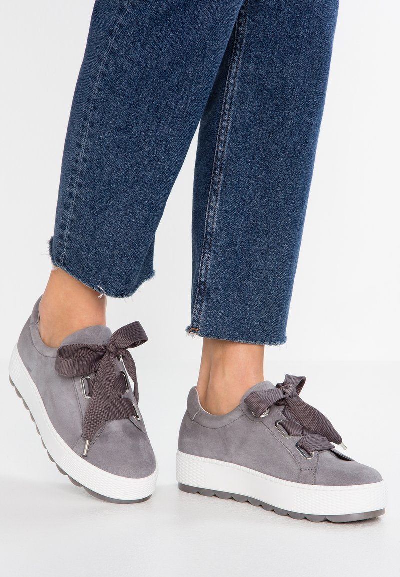 Gabor - WIDE FIT - Sneakers laag - donkey