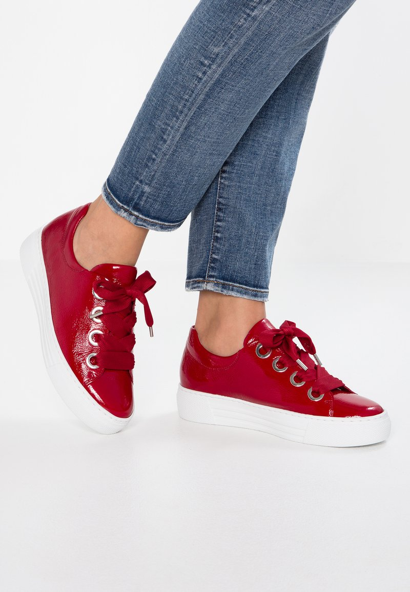 Gabor - WIDE FIT  - Trainers - red