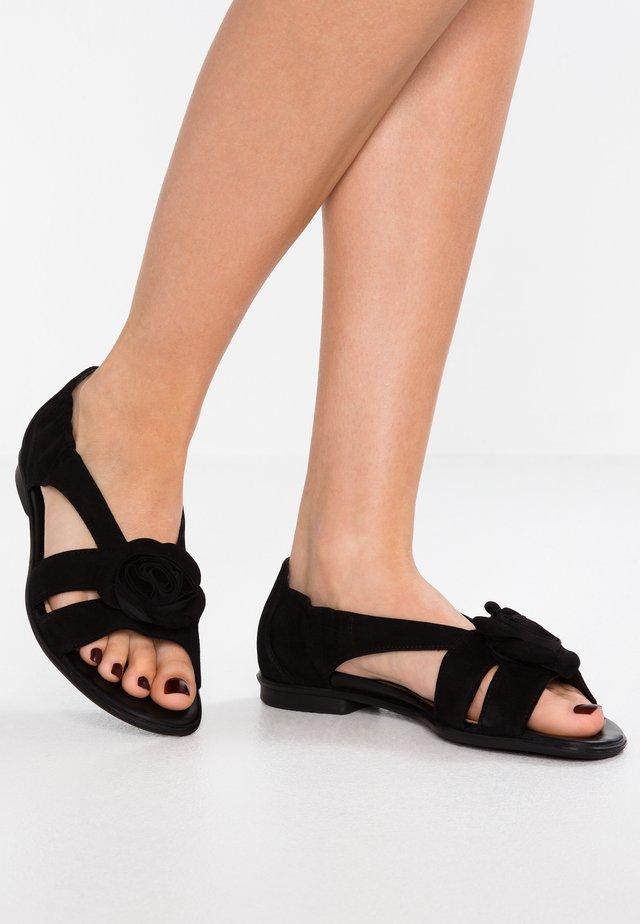 Sandalen - schwarz