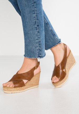 High Heel Sandalette - peanut